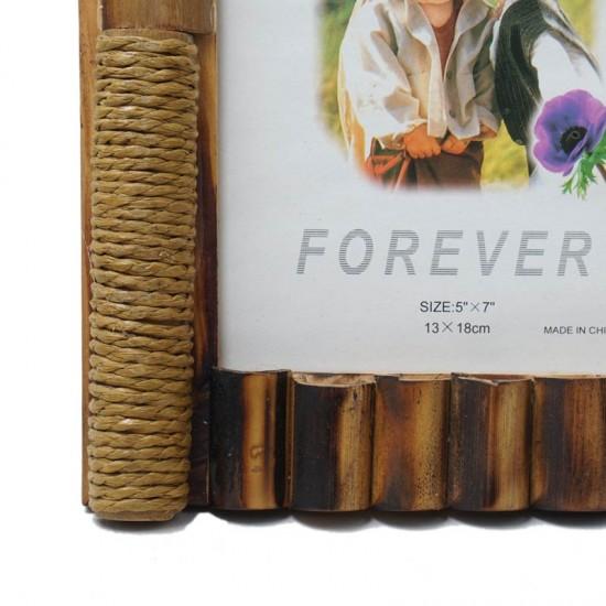 "Bamboo Weave Photo Frame 5""x7"""