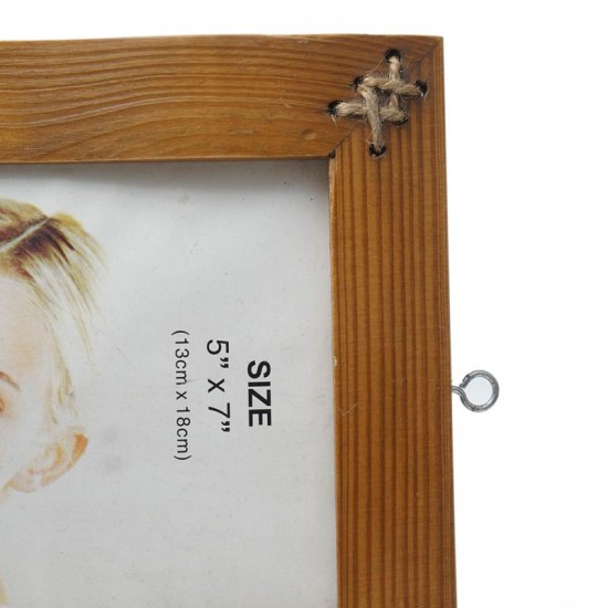 "Bamboo Coir Photo Frame 5""x7"""