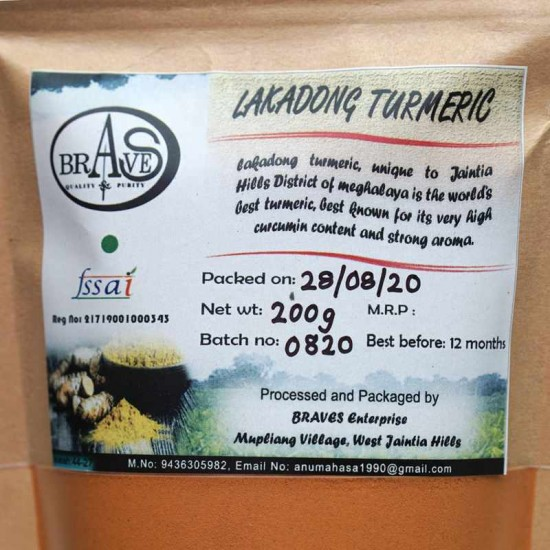Lakadong Turmeric Powder BE