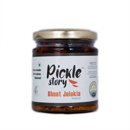Bhoot Jolokia Pickle - Elephant Country