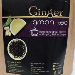 Ginger Green Tea