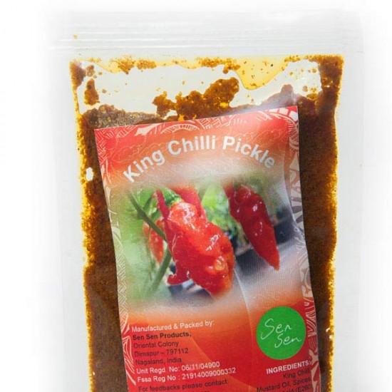 King Chili Pickle (Bhoot Jolokia, Ghost Chili)