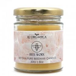 Le Organica Bee Wax Candle