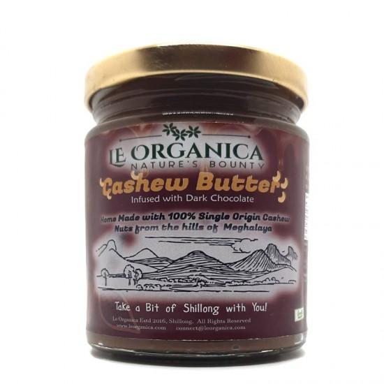 Le Organica Cashewnut Butter with Dark Chocolate