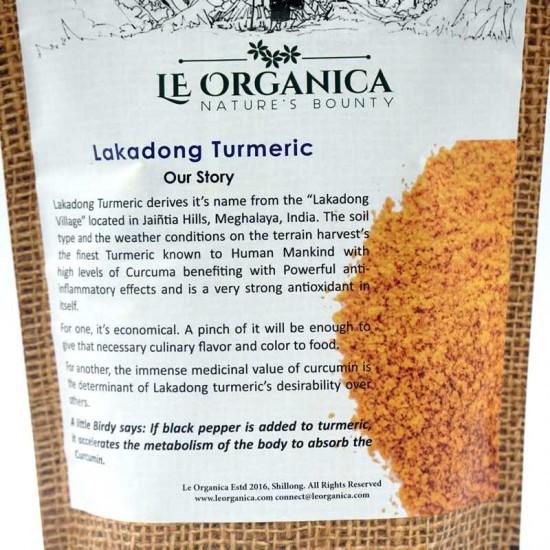 Le Organica Lakadong Turmeric Powder