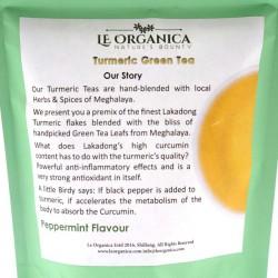 Le Organica Turmeric Green Tea
