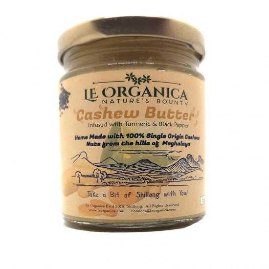 Le Organica Cashewnut Butter, Turmeric & Pepper
