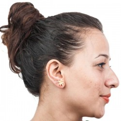 MBF Star Design Top Earrings