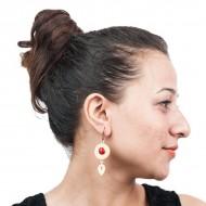 MBF Chandan Seed Dangler Earrings