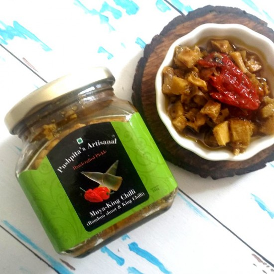 Muya (Bamboo) with King Chilli Pickle