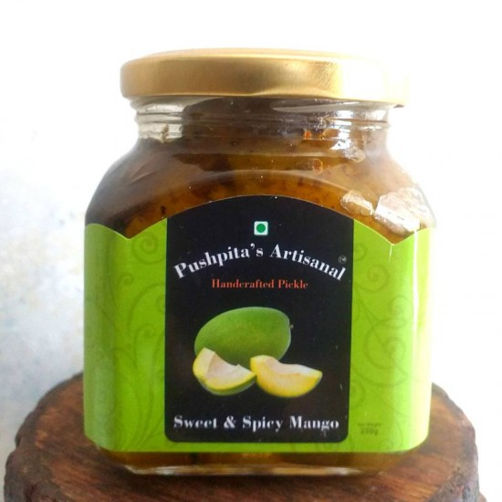 Sweet and Spicy Mango Pickle