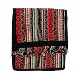 Sikkim Sling Bag, Red/Brown