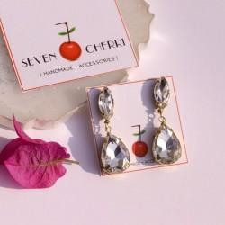 Crystal Stud Classic Earrings