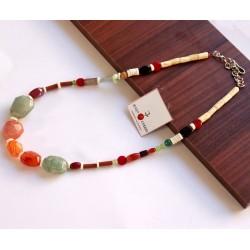 Ripok Dokatchi Beaded Necklace