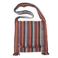 Sikkim Tribal Jhola Bag, Orange