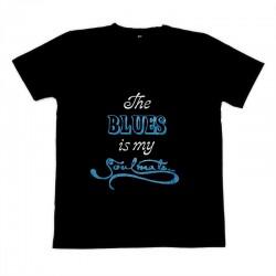 Soulmate Slogan T-Shirt, Blue